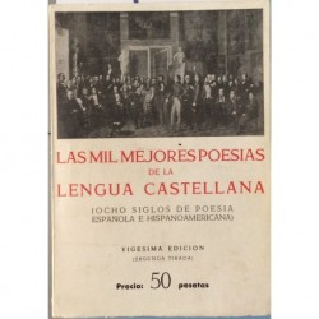 Las mil mejores poesias de la lengua castellana