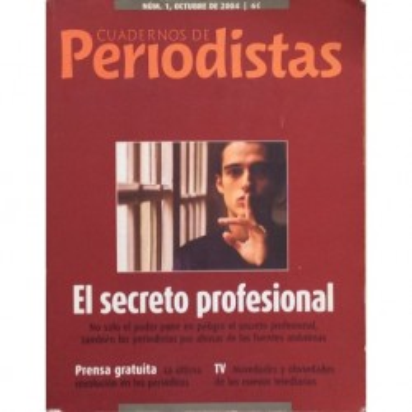 Cuadernos de Periodistas nº 1 - Octubre 2004