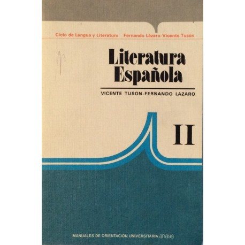 Literatura Española II