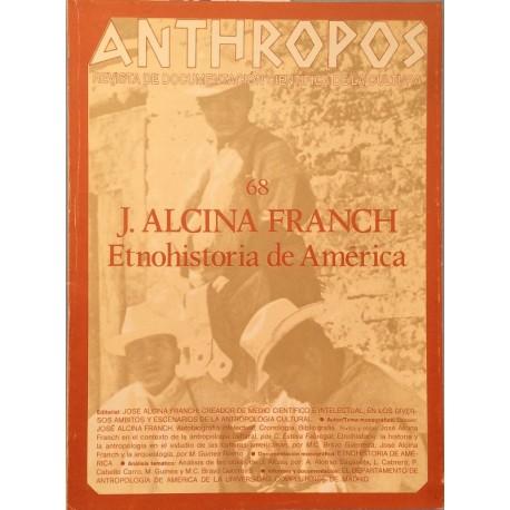 Anthropos. Nº 68 / 1987