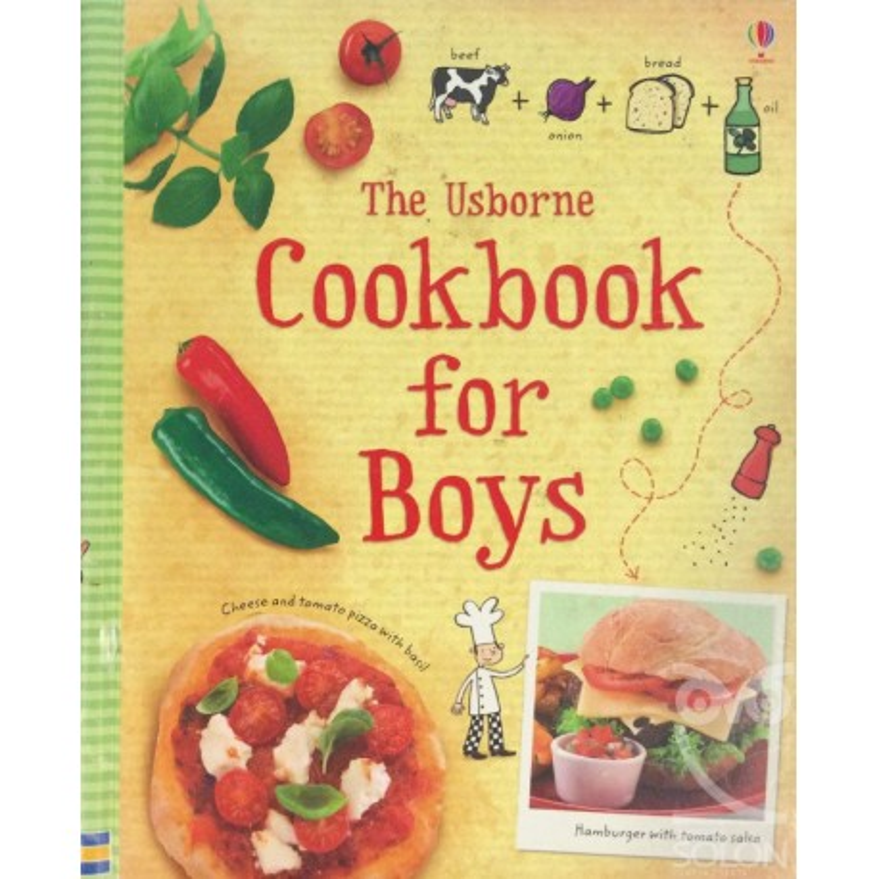 The Usborne Cookbook For Boys