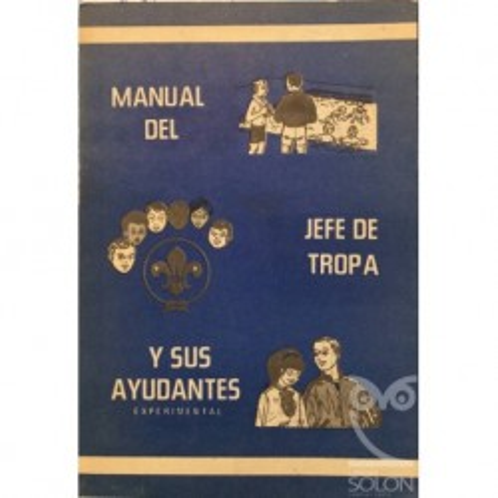 Manual del jefe de tropa y sus ayudantes