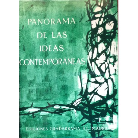 Panorama de las ideas contemporáneas
