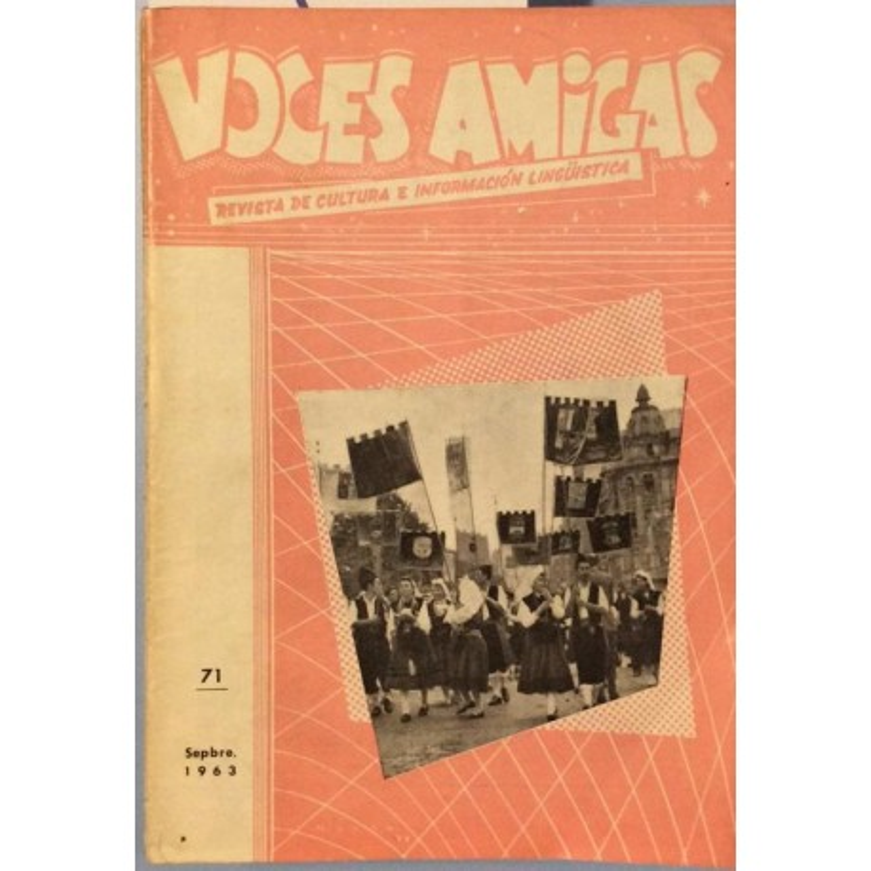 Voces Amigas - Revista de cultura e información lingüistica 17 números